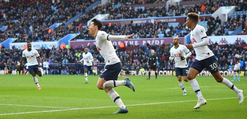 Heung-min Son célèbre son 2e but